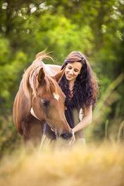 Individuum Pferd