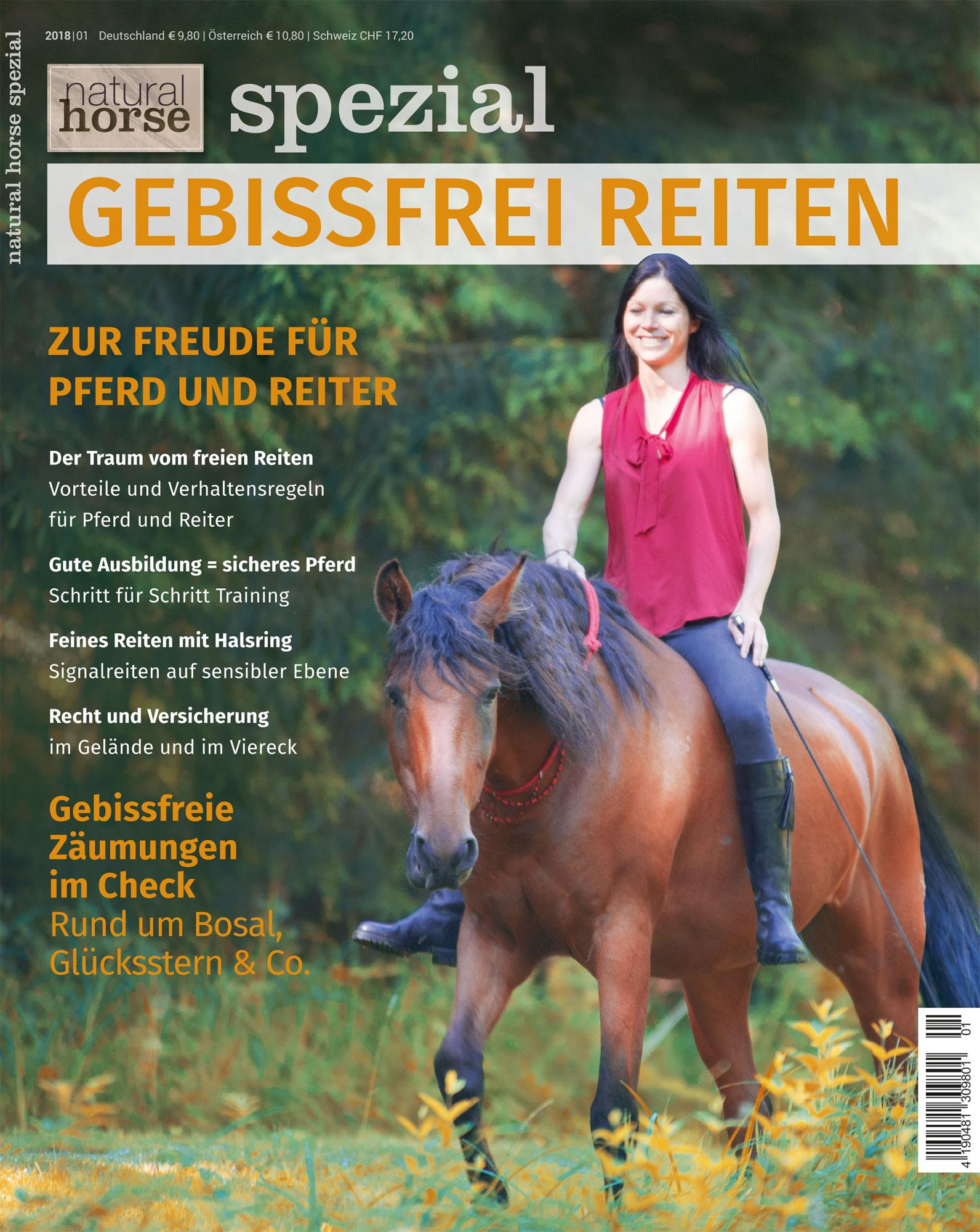 Natural Horse 21 - Spezial Gebissfrei Reiten