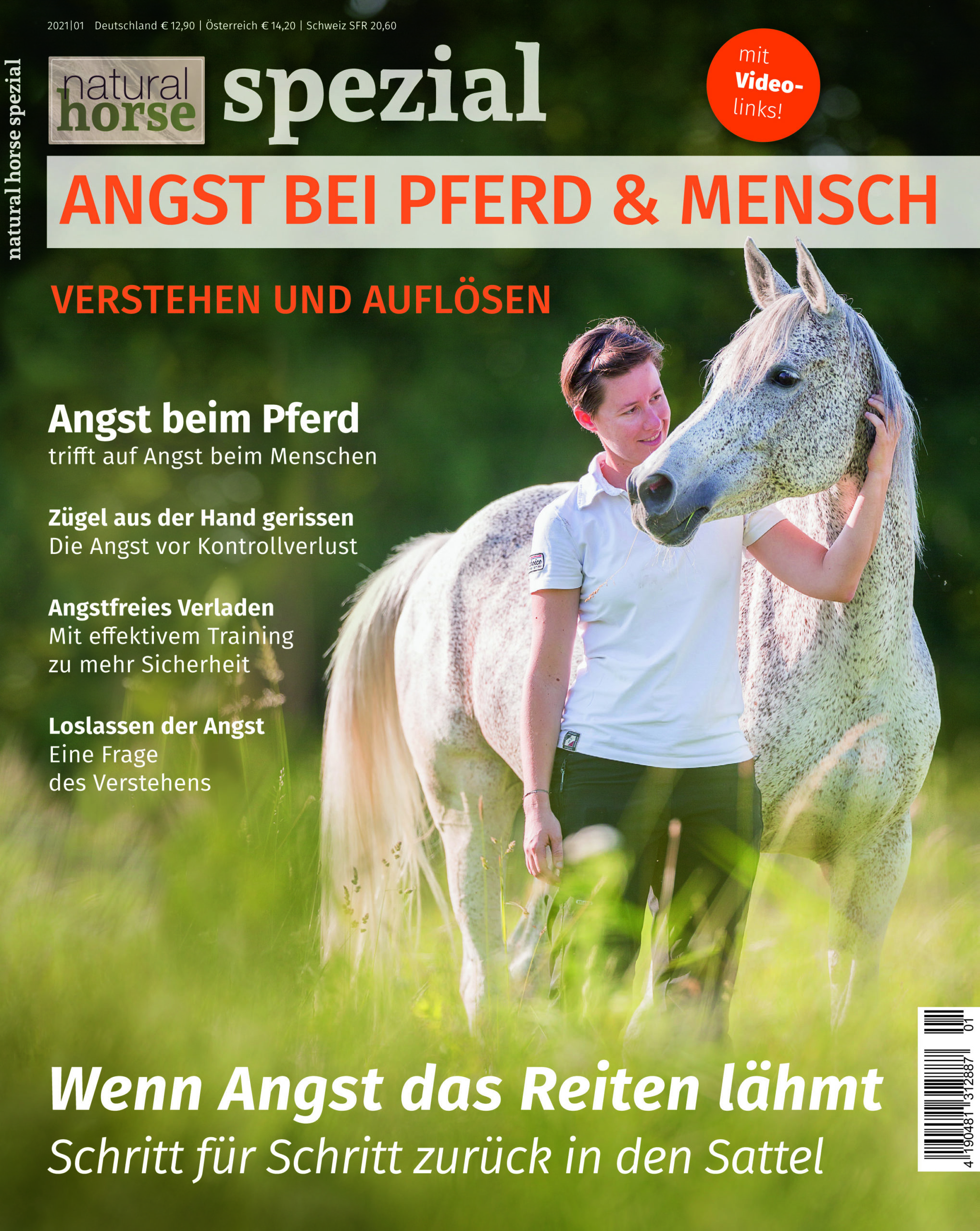 Natural Horse 36 Spezial Angst bei Pferd & Mensch